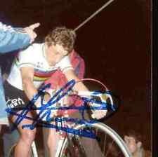 FREDDY MAERTENS WORLD champion monde 77 Signed Autographe cycling Signé cyclisme