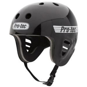 Pro-Tec Full Cut Water Sports (Mount Clip) Helmet, Gloss Black