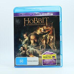 Hobbit The Desolation of Smaug (2014, 3-Disc Set) Blu Ray RB GC