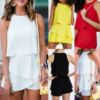 New Women Ladies Clubwear Shorts Playsuit Bodycon Party Jumpsuit&Romper Trousers