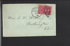 ELGIN, ILLINOIS COVER 1904, #324, KANE CO. 1837/OP.