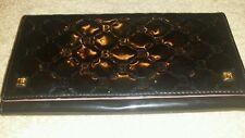 BONIA Black Signature Logo Wallet Clutch Small Handbag w/ Removable Straps