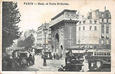 PARIS - Boul et Porte St-Martin