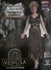 Women's - Medusa Halloween Costume - Size 8-10 - Brand New
