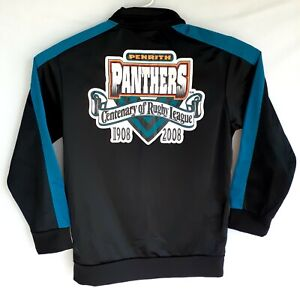 Penrith Panthers Centenary Of Rugby League 2008 Zip Up Black Jacket Size M