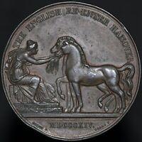 1814 | H.R.H. Duke Of Cambridge The English Re-enter Hanover Medal | KM Coins