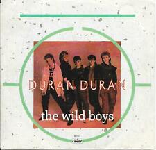 45 RPM RECORD-DURAN DURAN-THE WILD BOYS-PICTURE SLEEVE-CANADA PRESSING