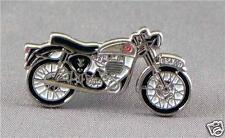 Classic British BSA style motorcycle enamel pin / lapel badge Bantam Gold Star