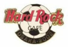 Hard Rock Cafe OSAKA 2002 FIFA Soccer World Cup HRC Logo PIN LE 300 - HRC #17808