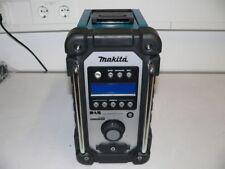 Neuwertig: Makita DMR 104 Baustellen Radio Solo Schwarz Grün DAB Digital