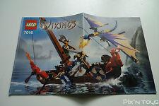 LEGO Notice Instruction / 7016 Viking Boat against the Wyvern Dragon
