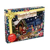 Waddingtons Christmas Santa's Grotto 1000 Piece Jigsaw Puzzle