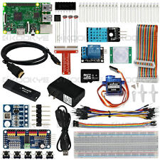 Raspberry Pi 3 Model B Board Internet Of Things(IoT) Full Starter  Complete Kit