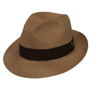 DOBBS I ROSEBUD STRAW HAT I COGNAC