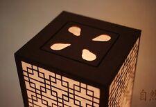 Paper Art Shade Green Lantern Table Touch Light Angle Brightness Adjustable Lamp