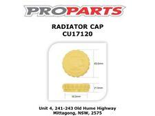 HOLDEN CAPTIVA PETROL & DEISEL MODELS RADIATOR CAP - CU17120