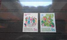 timbre liechtenstein ** europa neuf n901/2  1989