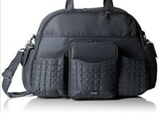 Lug Tuk Tuk ,Travel Gym Sports Baby Yoga Shoulder Diaper Bag,Mens Womens,Grey