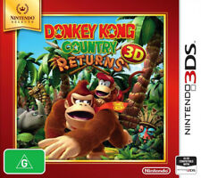 Donkey Kong Country Returns 3D 3DS Game NEW