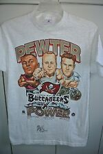 Tampa Bay Buccaneers Pewter Power Tee Autographed by QB Trent Dilfer 1997/Nice