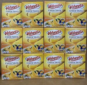 Velveeta Original Cheese Sauce (12 Boxes Of 4 oz Pouches, 3 Count) 12 Boxes Of 3