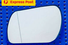Left side mirror glass to suit MAZDA 3 BK 01/04-03/09 Convex with base