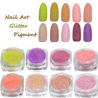 Mix Color Nail Art Glitter Powder Dust For UV GEL Acrylic Powder Decoration Tips