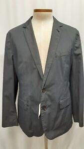 NWT J Crew Unstructured Blazer/Sport coat Jacket Size 44 XL Navy Cotton