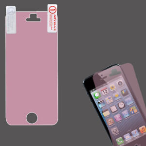 For Apple iPhone 5 5S LCD Screen Protector/Pink