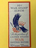 WWII .10 cent War Stamp Album