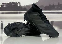 Adidas Predator 18.3 FG Firm Ground Soccer Cleats Black CP9303 Men's Size 11.5