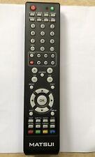 GENUINE MATSUI LOGIK TV REMOTE CONTROL FOR M22DVDB19 / L19DVB20/ L22/L24DVDB19