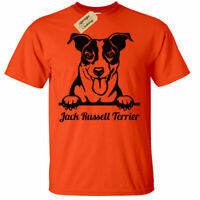 Jack Russell Terrier T-Shirt Mens dog lover gift present