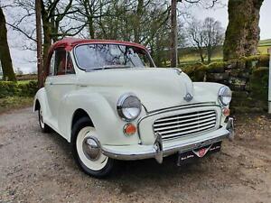 Superb quality, restored 1966 Original Morris Minor convertible