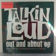 "Perception And The K-Creative ‎– Out And About EP (Vinyl 12"", Maxi 33 Tours)"