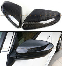 For 2016-2020 Honda Civic Carbon Fiber Side Mirror Cover Cap Direct Replacement