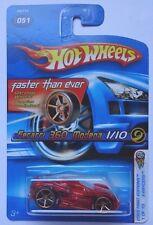 2005 Hot Wheels First Edition X-Racers Ferrari 360 Modena 1/10 (FTE Hub Wheels)
