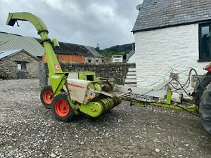 Class Jaguar 61 Forage Harvester Tractor Mounted