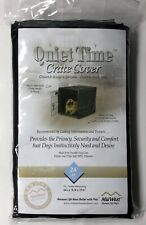 MIDWEST QUIET TIME CRATE COVER NEW IN PKG  BLACK  SMALL CRATE 24""