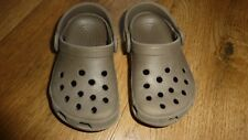Boys Crocs Size 4/5 Infant Khaki