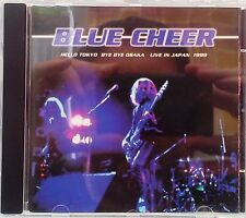 Blue Cheer - Hello Tokyo Bye Bye Osaka Live In Japan 1999 (CD 1999)