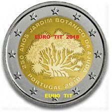 2 € PORTUGAL COMMEMORATIVE 2018  1 X  PIECE  JARDIN  BOTANIQUE   2018 disponible