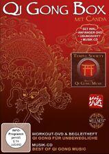 CANDA - QI GONG BOX SET INCL. ANFÄNGER-DVD,ÜBUNGSHEFT, CD  DVD+CD NEU