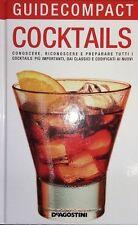 Cocktails libro Nuovo Guide Compact De Agostini N