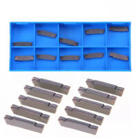 10pcs MGMN200-G LDA Carbide Inserts Blades for Cutting Lathe Turning Tool
