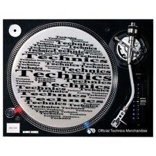 Slipmats Technics - Spirale Broadway bianco (1 pezzo / 1 pezzo) 0020101816-1