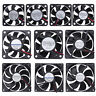 DC 5V/12V/24V 118x118x24mm Computer Case CPU Cooling Fan Radiator Cooler Fan Lot
