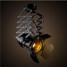 Industrial Vintage Ceiling Light Iron Retro Flexible Spotlight Adjustable Lamp
