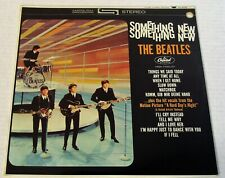 The Beatles-Something New-1964 US LP-SEALED #12-Green or Apple Label-PROMO Hole!