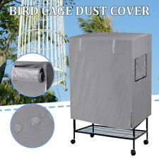 Large Bird Cage Cover Durable Lightweight Solid Parrot Sleep Helper Dust Grey